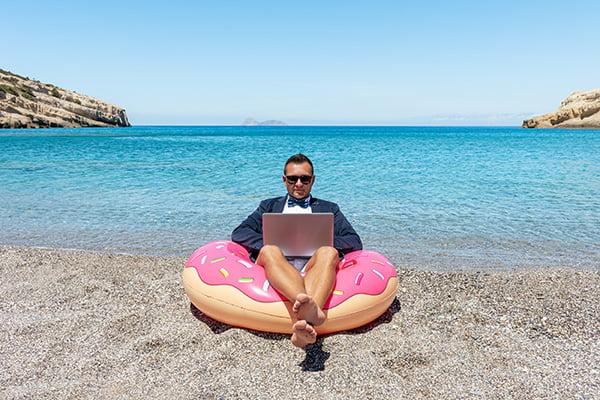 bigstock Businessman Using Laptop Compu 375056131