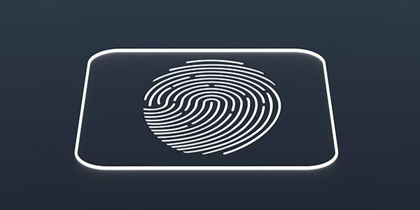 bigstock Fingerprint On Black Backgroun 406417739