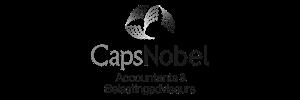 Samenwerking bedrijfsovernames Caps Nobel